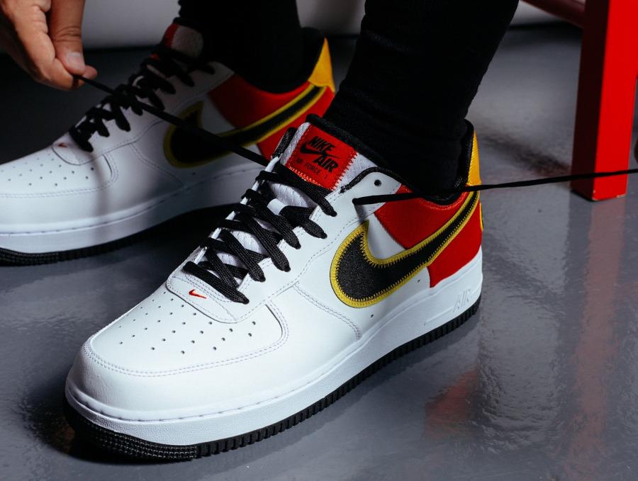 Nike AF1 Area 72 blanche 2021 (4)