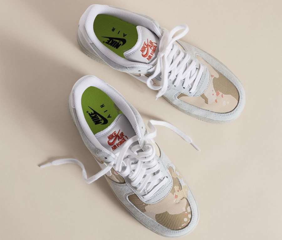 Nike Air Force 1 '07 LX Recycled Desert Camo DD1175-001