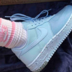 Nike Wmns AF1 Low Crater Chambray Blue