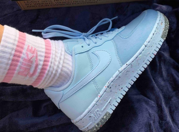 Nike Air Force 1 AF1 Crater Chambray Blue CT1986-400 (couv)