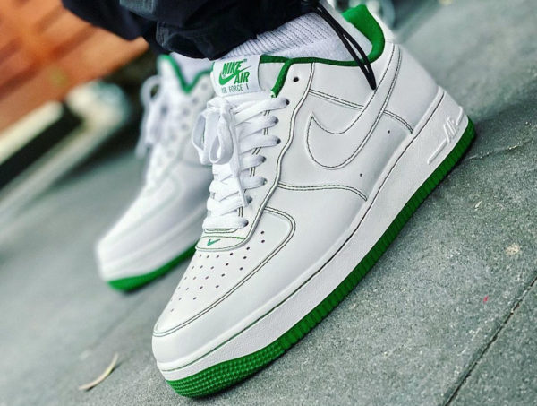 Nike Air Force 1 AF1 Low Stitching Pine Green CV1724-103