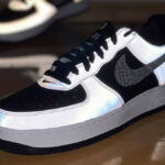 Nike AF1 B Silver Snake 2021