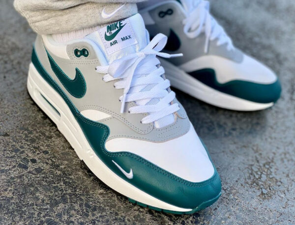 Nike Air Max 1 87 LV8 PRM Dark Teal Green DH4059 101