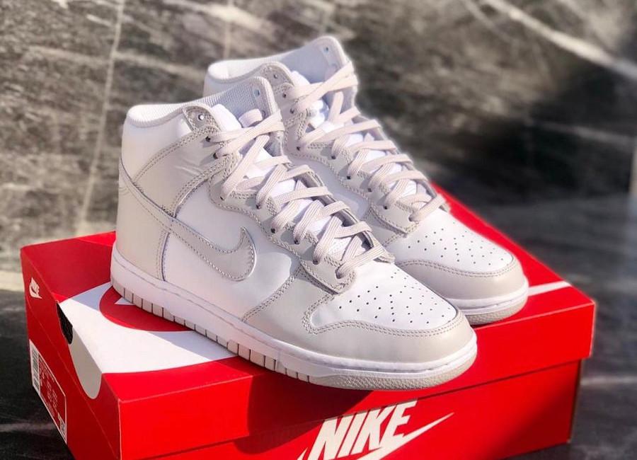 Nike Dunk High Retro Gris Clair Vast Grey DD1399-100