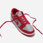 Nike Dunk Low Retro Medium Grey Varsity Red 2021