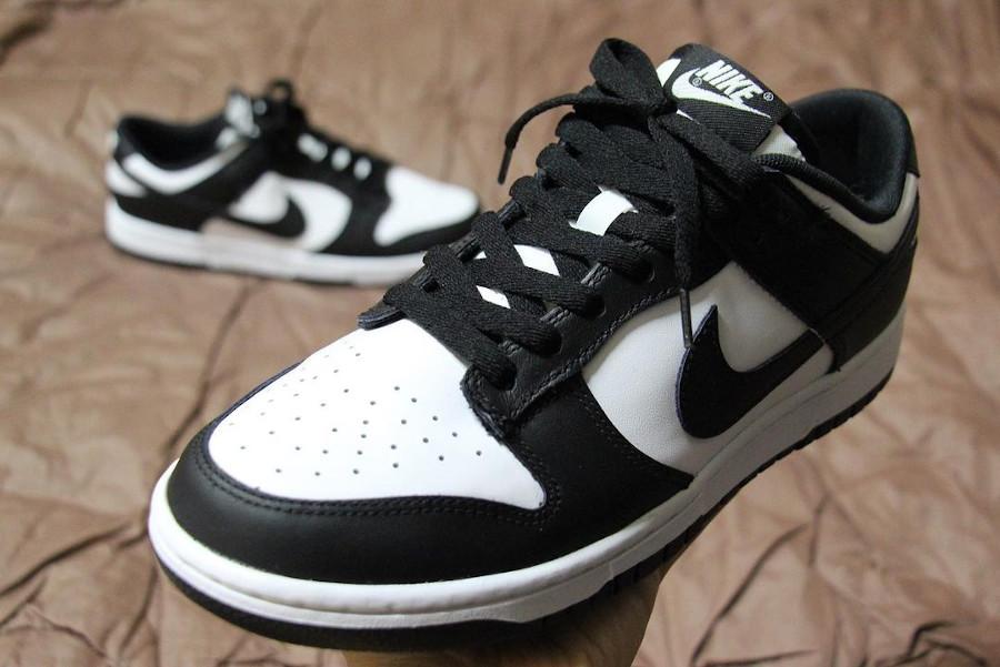Nike Dunk basse blanc et noir (1)