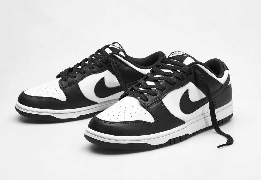 Nike Dunk basse blanc et noir (2)