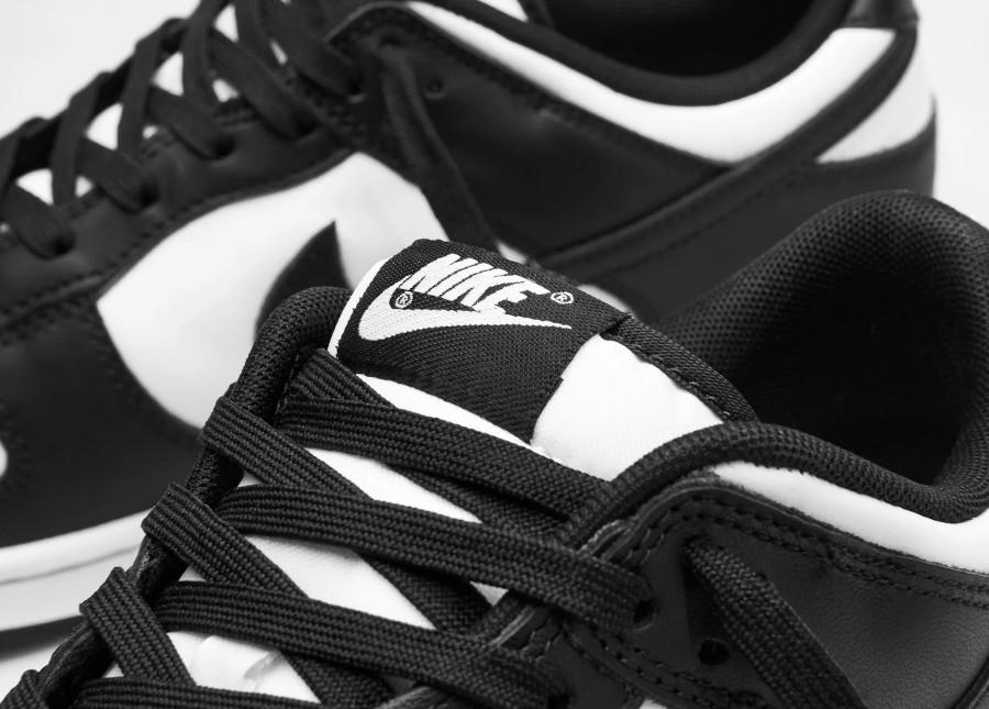 Nike Dunk basse blanc et noir (3)