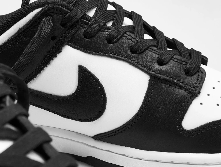 Nike Dunk basse blanc et noir (4)