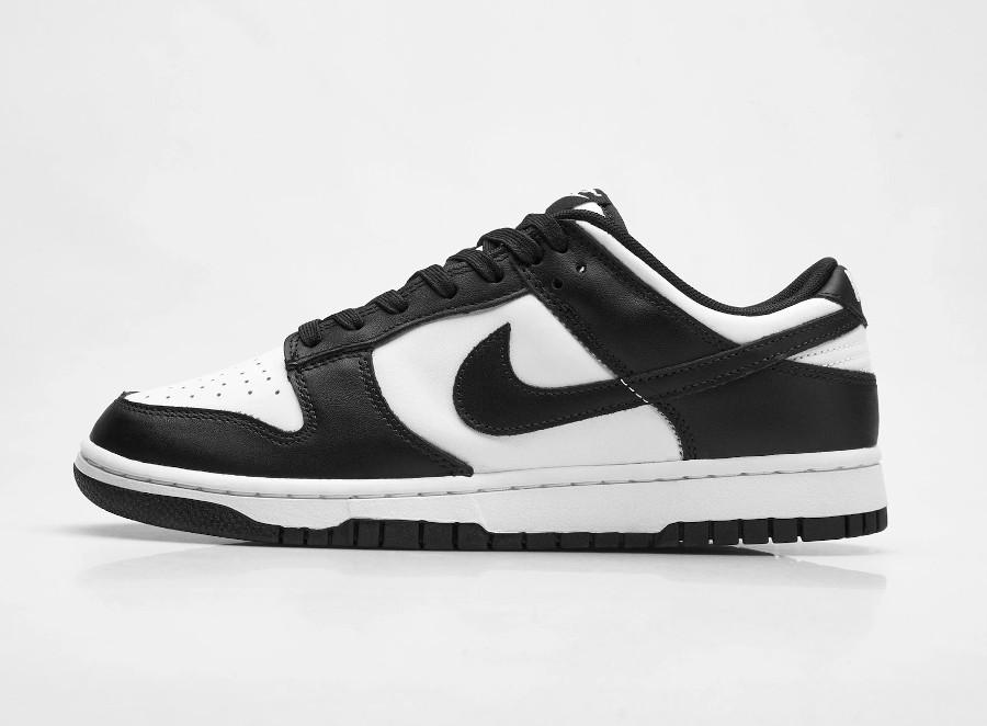 Nike Dunk basse blanc et noir (5)