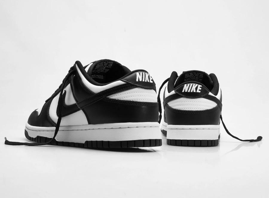 Nike Dunk basse blanc et noir (7)