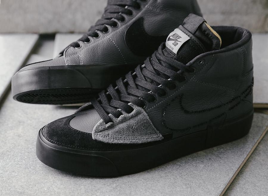 Nike SB Blazer Mid Edge Sacai Iron Grey DA2189-001