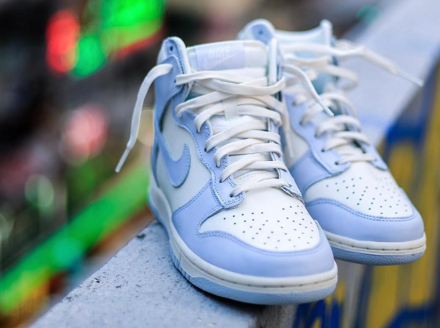 Nike W Dunk High Bleu Pastel Football Grey DD1869-102