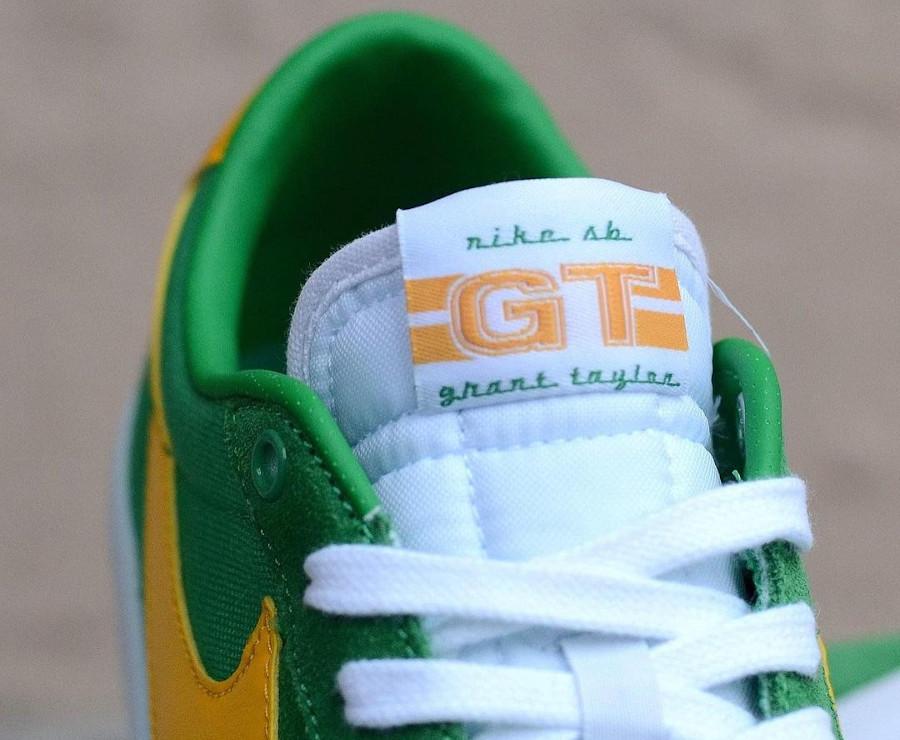 Nike Zoom Blazer SB Low Pro GT Jaune et verte (7)