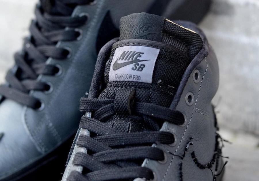 Nike Zoom Blazer SB Mid Edge gris et noir (4)