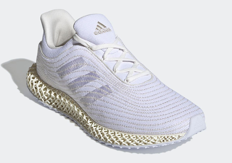 Parley x Adidas 4D Cream White