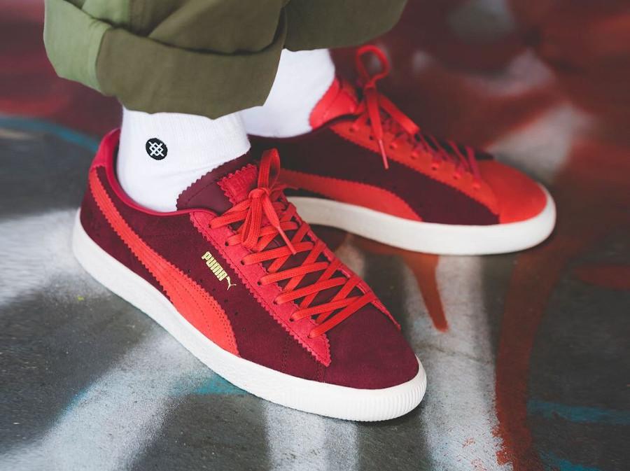 Puma-Michael-Lau-Suede-Vtg-Sample-Poppy-Red-380820-01-on-feet