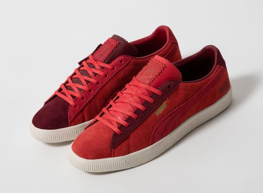 Puma-Suede-Vintage-Mismatched-rouge-et-bordeaux-2