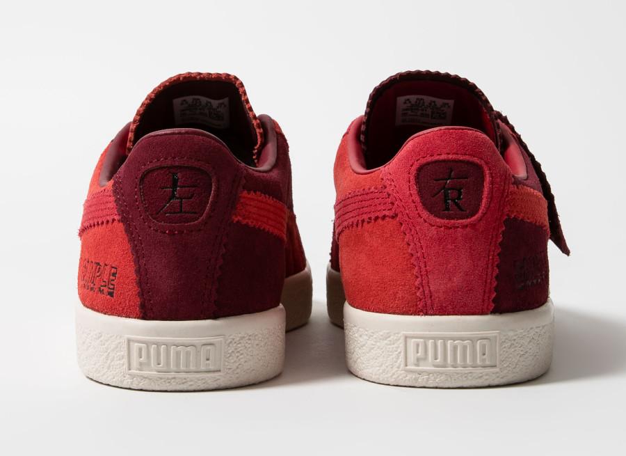 Puma-Suede-Vintage-Mismatched-rouge-et-bordeaux-4