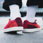 Michael Lau x Puma Suede Vintage Sample Poppy Red