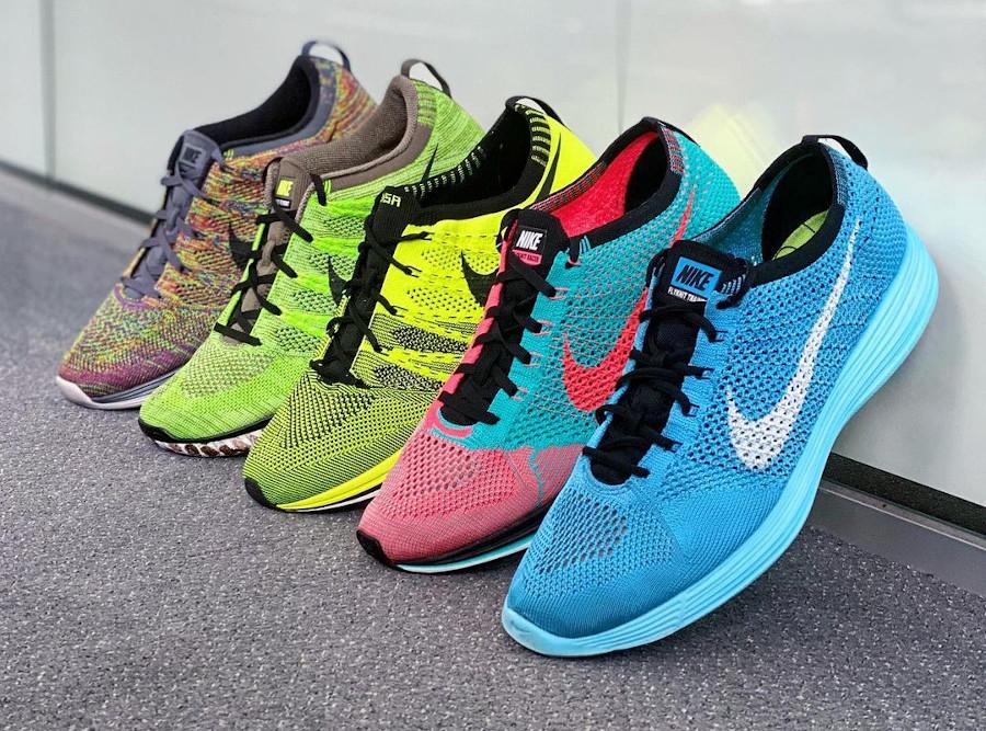 Toutes les Nike Flyknit