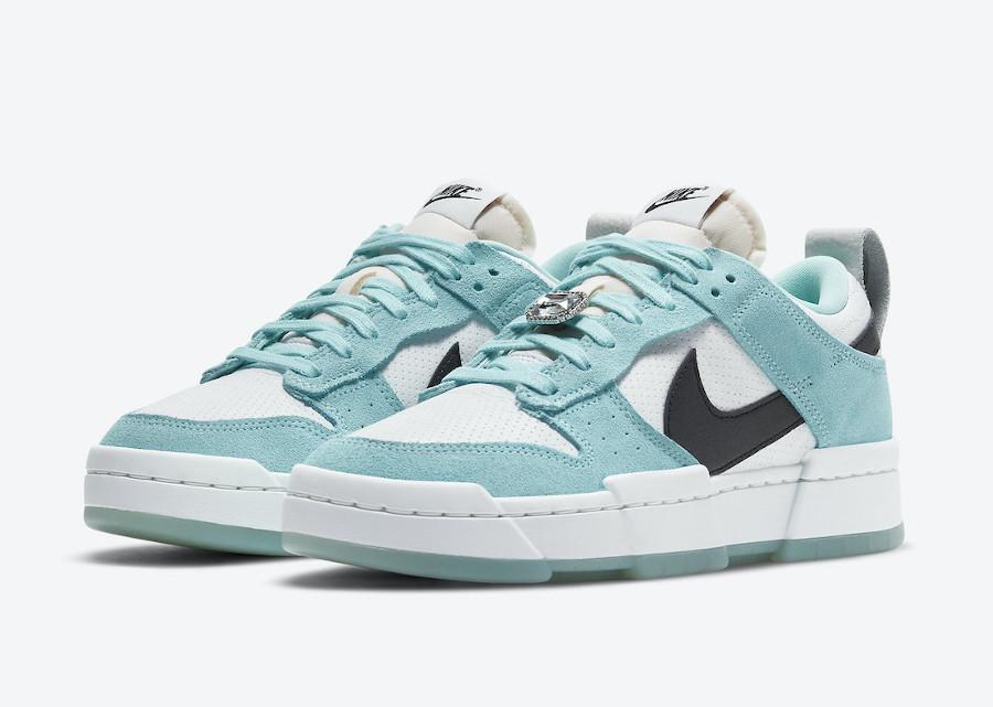 Women's Nike Dunk Low Tiffany Blue (1)