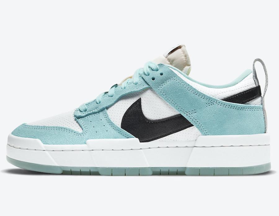 Women's Nike Dunk Low Tiffany Blue (7)
