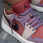 Air Jordan 1 Low 'Canyon Rust Purple Smoke'