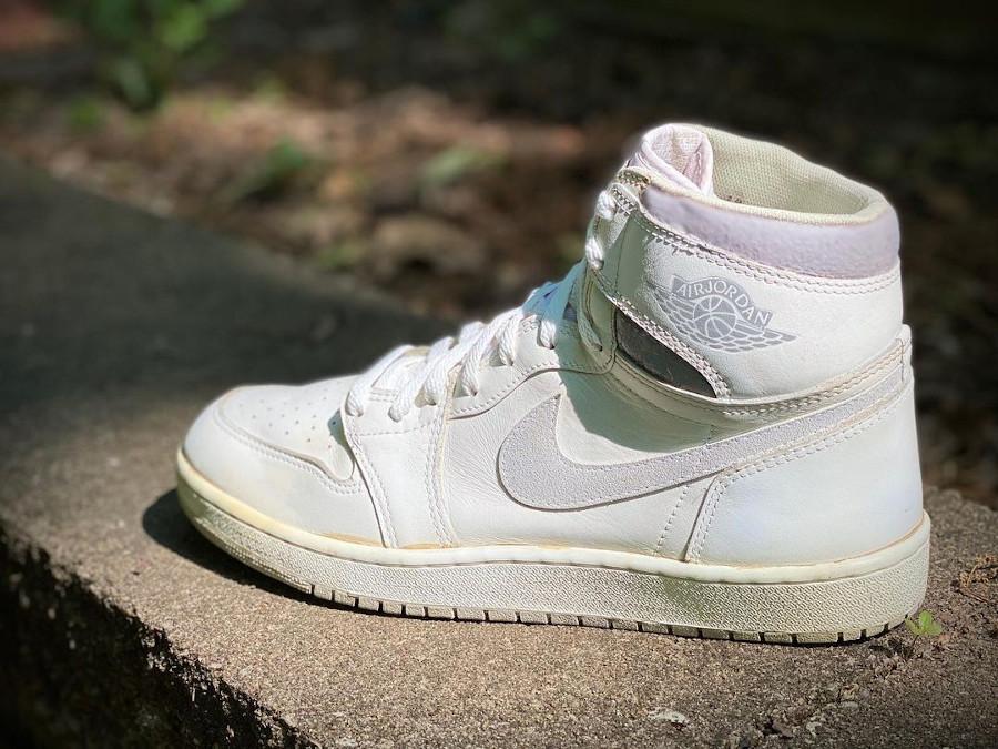 AJ1 Neutral Grey Vintage de 1985