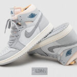 Air Jordan 1 Zoom Comfort City 'London Grey'