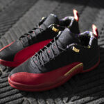 Air Jordan 12 Retro Low SE 'Super Bowl LV' Black Metallic Gold