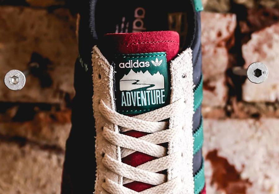 Adidas Adventure Handball Spezial noir bordeaux et vert (5)