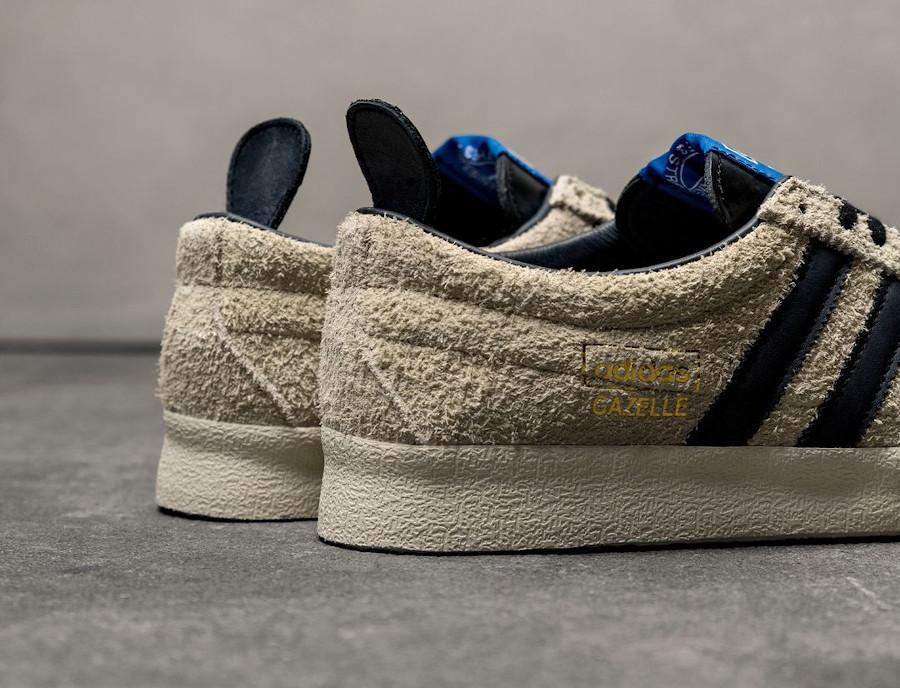 Adidas Gazelle en daim blanc crème (2)