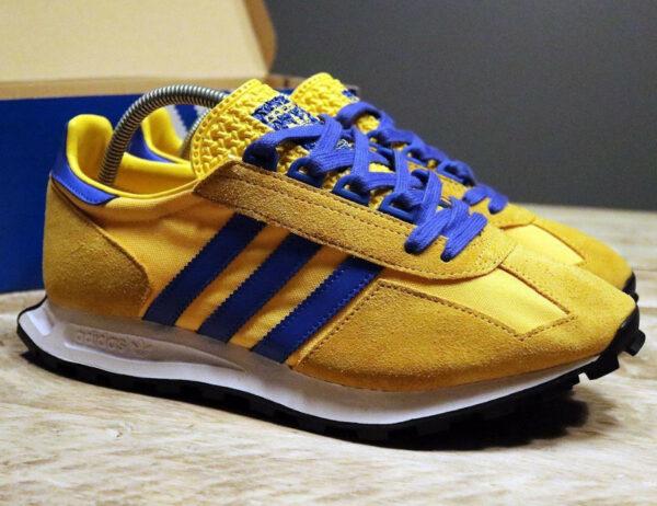 Adidas Racing 1 Malmo Bold Gold Blue FY3668