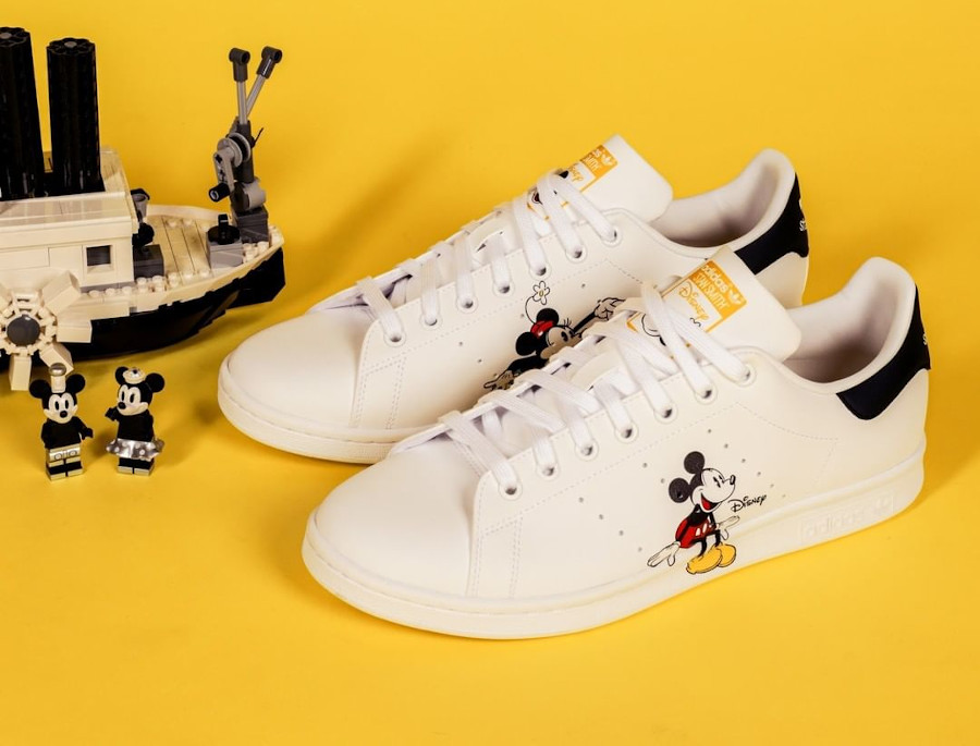 Adidas Stan Smith Mickey Minnie Mouse GW2250