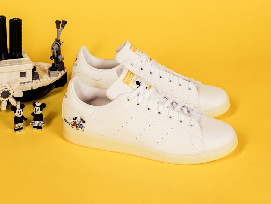 Adidas Stan Smith Mickey Mousse Minnie GW2255