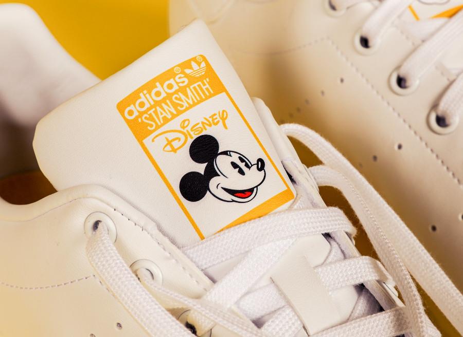 Adidas Stan Smith Miki Maus blanche et bleu foncé (2)
