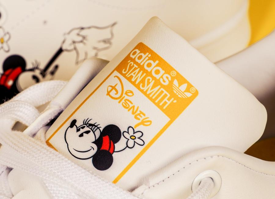 Adidas Stan Smith Primegreen Miki Maus blanche et dorée (1)