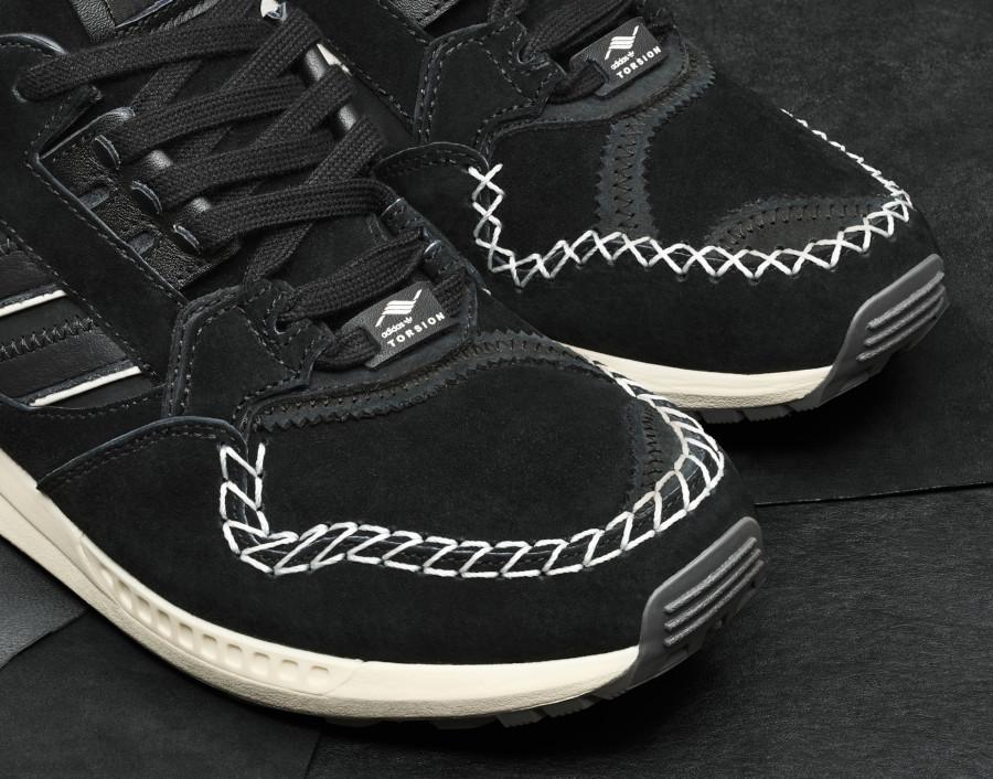 Adidas ZX 9000 mocassin noir (3)