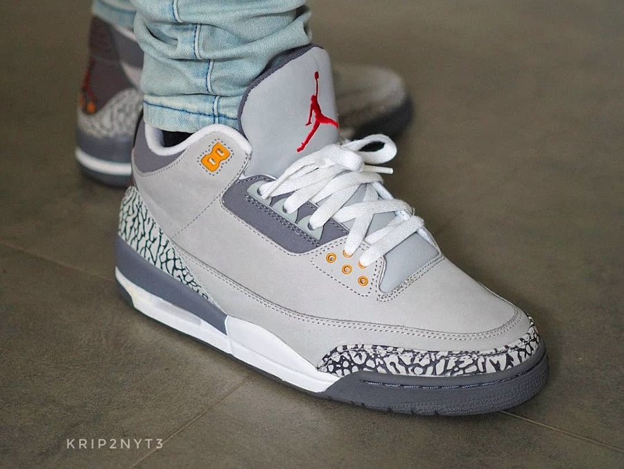 Air Jordan 3 Retro Cool Grey de 2007
