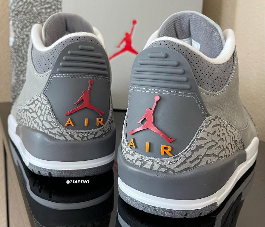 Air Jordan 3 en suède gris (elephant print) (1)