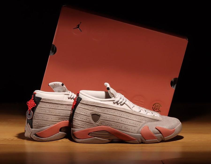Air Jordan XIV guerriers de terre cuite 2021 (1)