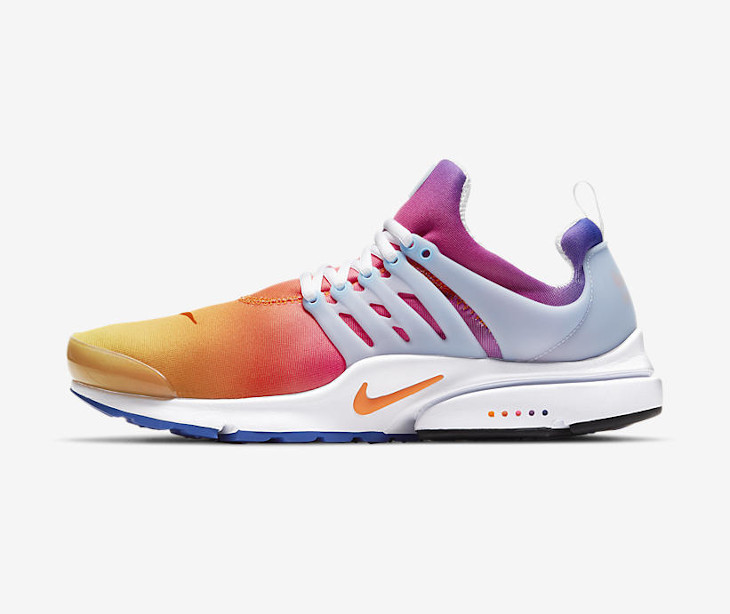 Date de sortie Nike Air Presto Rainbow 2021