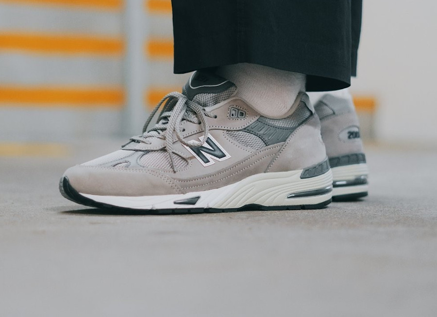 NB 991 M991ANI Grey Navy 20th Anniversary (made in UK)