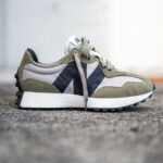 New Balance 327 Covert Green Olive 'The Intelligent Choice' (Print Pack)