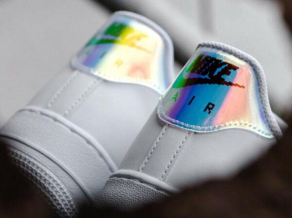 Nike AF1 07 LV8 Iridescent Digital Pixel Swoosh CV1699-100