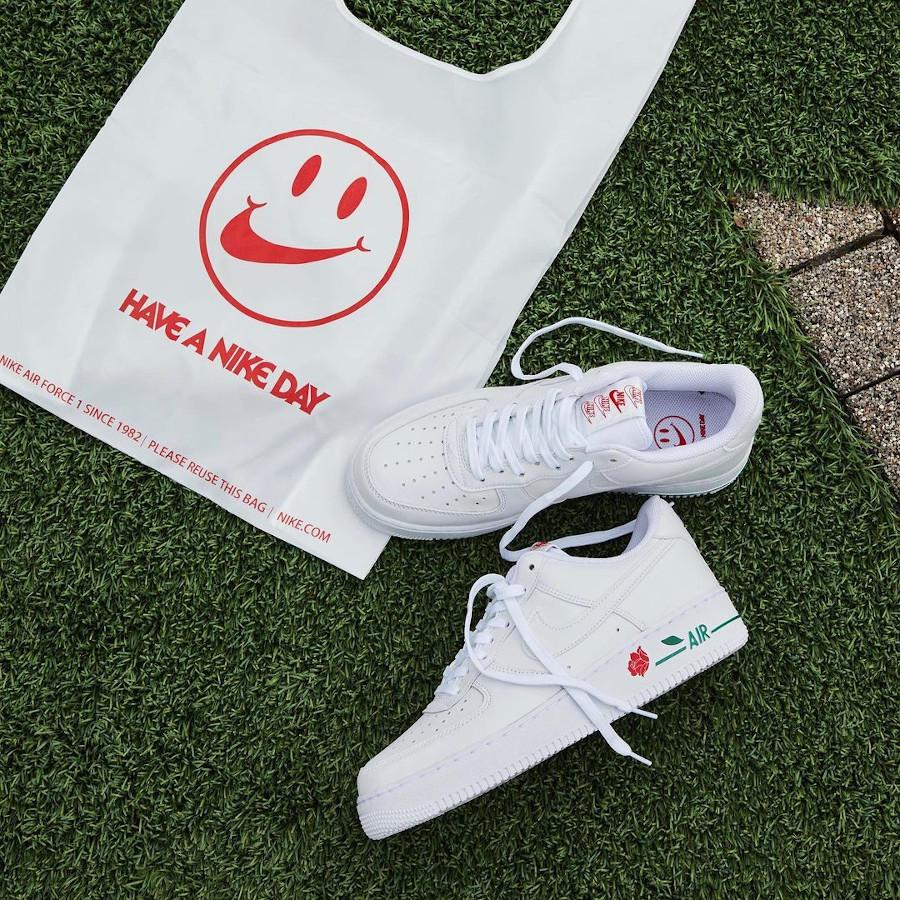 Nike AF1 '07 LX 'Thank You' White Bag CU6312-100