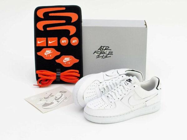 Nike AF1 2021 blanche logo Swoosh interchangeables (1)
