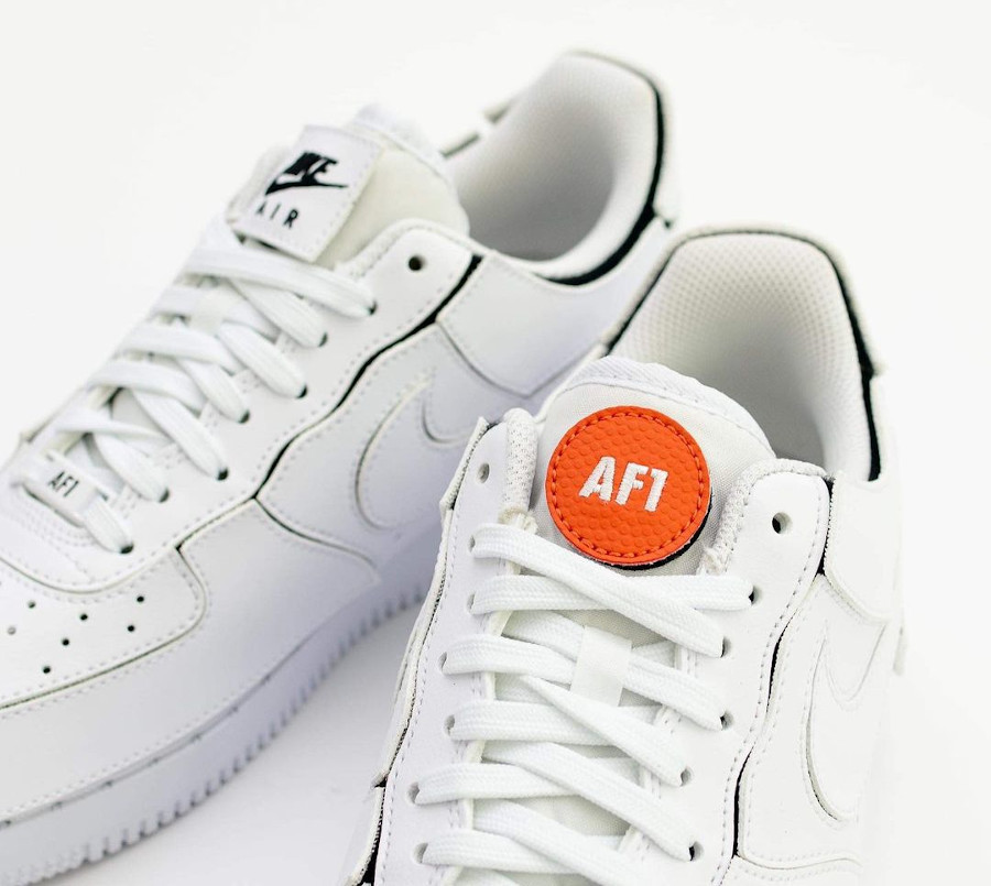 Nike AF1 2021 blanche logo Swoosh interchangeables (2)