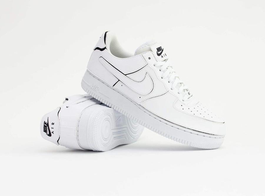 Nike AF1 2021 blanche logo Swoosh interchangeables (4)
